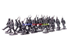 New Caesar 1/72 WWII German Infantry Marching 24pc Army Men Figures Toy Soldier