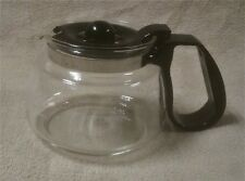 MR. MR COFFEE 4 Cup Replacement CARAFE DECANTER POT Glass Black ND4 EUC