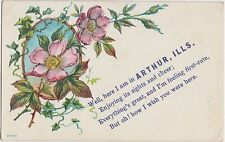 Illinois Il Postcard 1909 ARTHUR Sights And Cheer First Rate GREETINGS