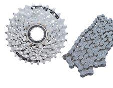 Fahrrad Verschleißset Kassette HG51 8 Fach 11-28 Shimano HG 40 Kette Komplettset