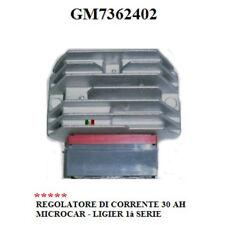 REGOLATORE DI TENSIONE 30 AH 1° SERIE MICROCAR LIGIER GM7362402