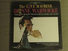 DIONNE WARWICKE THE LOVE MACHINE LP ORIG '71 SCEPTER OST SOUNDTRACK SEALED!