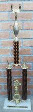 "80s Bmx Trophy Two Tier 36"" Bicycle wood"