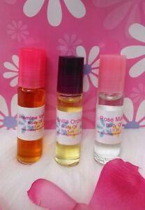 Blackberry Vanilla Perfume Body Oil Fragrance .33 oz Roll On One Bottle Womens