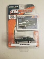 GREENLIGHT COLLECTIBLES MUSCLE SERIES 1967 FORD MUSTANG Dark Green