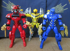 Power Rangers Jungle Fury Tiger Blue Jaguar Mystic Force Yellow Thunder Dragon