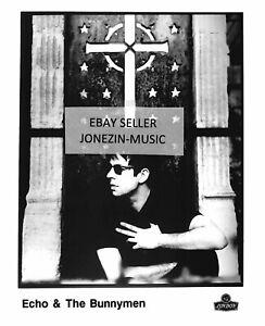 Echo & The Bunnymen Ian McCulloch official 8x10 promo/publicity/press photo MINT