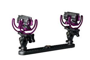 Rycote Universal Stereo Pencil Microphone Suspension Kit Aston Starlight Purple