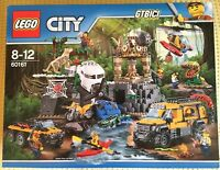 LEGO CITY JUNGLE  `` EXPLORATION SITE ´´   Ref 60161  NUEVO A ESTRENAR