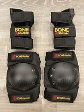Bone Shieldz ~ Right and Left Wrist Guards + Knee Pads Size Medium