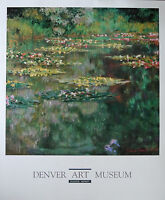 Monet Water Lilly Pond Offsetdruck