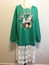 New Womens Long Sleeve Hoodie Sweatshirt Jumper Hooded Dress Tops Blouse SZ 3XL
