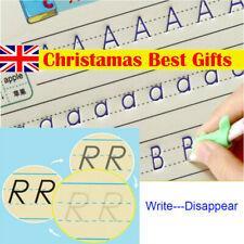 Kids Concave Magic Practice Writing Paste Children Educational Book with Pen Set