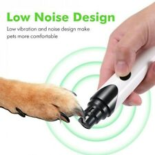 More details for electric dog nail grinder pet paw trimmer ultra quiet usb rechargeable cutter