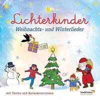 LICHTERKINDER - WEIHNACHTS- UND WINTERLIEDER   CD NEU