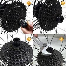 New Bike Cassette Flywheel Freewheel Lockring Remover Removal Repair Tool
