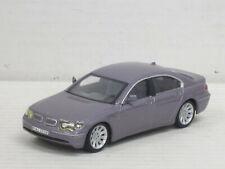 BMW 745i in fliedermetallic, ohne OVP, Hongwell/Cararama, 1:43