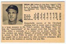 1956 Jim Hegan Vintage ULTRA RARE card - Cleveland Indians