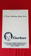 Six Inch Gerber Birthday Baby Twins – Factory Sealed – 1992