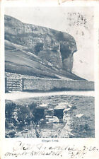 R321888 Kilnsey Crag. Hood. Postcard