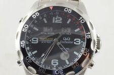 Q&Q Exclusive WR100 Chronograph Digital Digianalog Armbanduhr Worldtimer