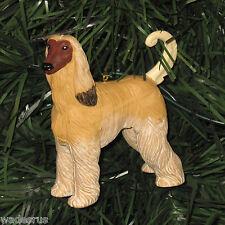Afghan Hound Dog  - Custom Christmas Tree Ornament Holiday Puppy