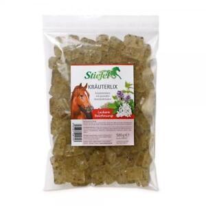 (EUR 11,80 / kg) Stiefel Kräuterlix- Kräuterbonbons für Pferde 2 x 500 g