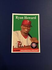 2007 Topps #WM11 RYAN HOWARD Philadelphia Phillies Walmart 1958 MINT RARE !