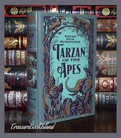 Tarzan Trilogy by Edgar R. Burroughs Brand New Sealed Leather Bound Collectible