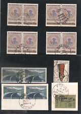 CYPRUS 8 FINE RURAL POSTAL SERVICE CANCELS CANCELLATIONS POSTMARKS