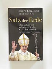 Joseph Ratzinger Papst Benedikt XVI Salz der Erde Christentum katholische Kirche