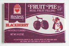 Blackberry Fruit Pie FRIDGE MAGNET (2 x 3 inches) hostess wrapper