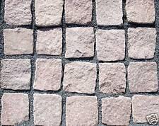 Granit Granitpflaster Pflasterstein Rötlich 9/11 cm