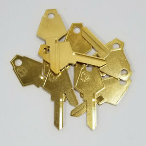 10 Mailbox Keys XL7 Key Blanks 1180S Key Blank XL-1E For XL Lock Salsbury Jensen
