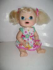 2012 Hasbro Baby Alive Real Surprises Hispanic Blonde Doll English  & Spanish