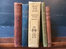 Lot Antique Victorian Edwardian Art Deco Book,HENRY,THACKERAY,Books,Display,Old