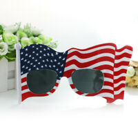 1pc Glasses American Flag Funny Sunglasses Eyeglasses for Cosplay Party July 4th