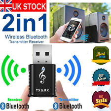 USB Bluetooth Adapter 5.0 Audio Receiver Transmitter For TV PC Speaker Headphone