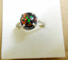 Cabochon Glass Costume Rings
