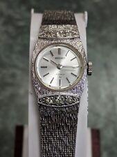 Vintage Ladies Seiko Mechanical 17 Jewels 21-7500 WGP