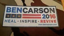 Soda Beer Can Kan Koozie Coozie Ben Carson President 2016 Heal Inspire Revive