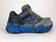 Skechers Super Z (95757) Sneakers Size 7 Toddler in Gray and Blue