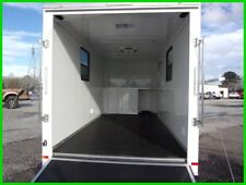 7x16 enclosed motorcycle cargo enclosed trailer A/C unit toy hauler camper NEW