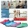 Men Women Water Shoes Barefoot Aqua Socks Quick-Dry Beach Swim Sports Exercise A