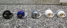 VINTAGE LOT OF 29 O.P.I. MINI 2 BAR FOOTBALL HELMETS RARE ITEMS CHECK IT OUT