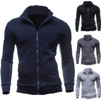 Men's Sweater Sweatshirt Winter Warm Slim Fit Hoodie Jumper Coat Jacket Outwear