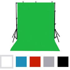 Washable Fabric Photography Screen Background Backdrop Photo Studio Lighting Kit