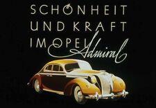 1937 Opel automobile poster print advert ca 8 x 10 print prent poster
