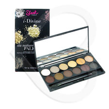 Sleek i-Divine Storm Eyeshadow Makeup Palette Brown Grey Black Silver Nude
