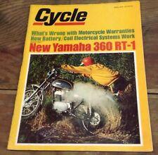 Cycle Magazine April 1970